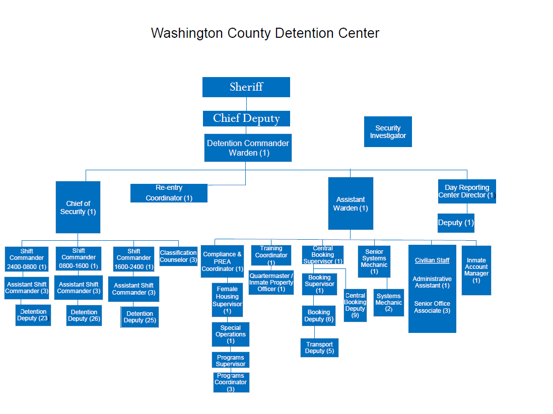Detention Division Chart