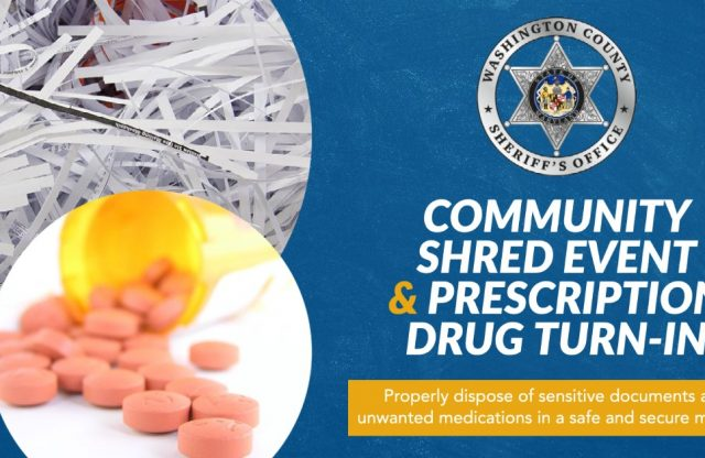 Community Shred and Prescription Drug Turn In Event